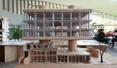 九州の大学研究室による 「西道り」の木質化プロジェクト