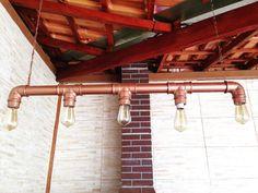 Concrete Molds, Interior Decorating, Interior Design, Pvc Pipe, Diy Tutorial, Track Lighting, Sweet Home, House Design, Ceiling Lights