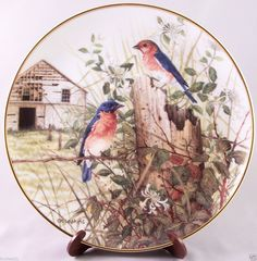 Franklin Mint Decorative Plate - The Old Barnyard in Collectibles Decorative Collectibles Decorative Collectible Brands & Star Trek Collectible Plates From Franklin Mint | Trade Me ...