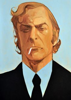 Michael Caine by Phil Noto.
