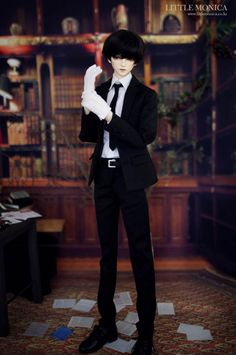 [LITTLE MONICA-DOLL]  Haazel #bjd #doll #boy #police http://dolkus.com/detail.php?id=19491