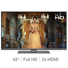 Buy Panasonic 49 Inch Smart Full HD LED TV at Argos. Thousands of products for same day delivery or fast store collection. Film Pictures, Great Pictures, Yes Internet, 32 Inch Tv, Tv Aerials, All Tv, Display Technologies, Digital Tv