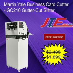 Martin yale bcs104 business card slitters martin yale bcs104 martin yale gc210 business card cutter is a huge business card cutting machine which is simple to create high quality designer business cards or greeting colourmoves