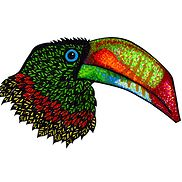 Hornbill Artwork - Put on any item....the choice is yours (Nook cases, apparel, hats, key chains, puzzles, etc.)!
