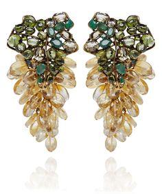 Iradj Moini Citrine Clip-On Earrings   Jewellery bu Iradj Moini   Liberty.co.uk