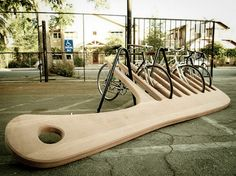cute bike rack!!