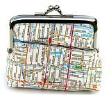 Map coin purse Coin Purses, Jukebox, Maps, Objects, Diy Projects, Sewing, My Style, Pattern, Crafts