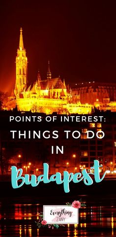 #budapest | Points of Interest: Best Things to do in Budapest (Hungary) | Budapest is located in the heart of Europe. The capital Hungary and considered to be one of the most beautiful cities in Europe. I agree! How can you not love this city! Budapest has friendly locals, great food, cheap booze and they really know how to party! It was my first time to attend a rave party on an open field on the top of the Buda hills! AMAZING!