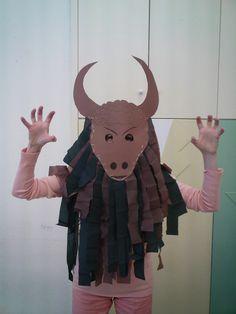 Ancient Greece--Minotaur costume for kids --  Τα Αστεράκια της Ανατολής: Μυθολογία