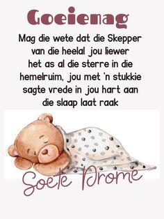 Good Night Blessings, Good Night Wishes, Goeie Nag, Sleep Tight, Afrikaans, Sweet Dreams, Boss Wallpaper, Teddy Bear, Girl Boss