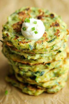 Zucchini Fritters - Urban Girl Wellness | Urban Girl Wellness