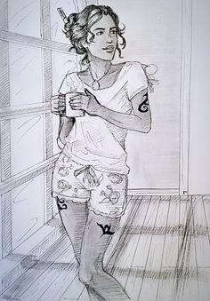 Cristina Rosales by OblivionsDream on @DeviantArt