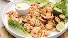 Barbecued Prawn with Ginger and Mango Mayonnaise