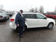 Congratulations to Fred and Suncha S. on their purchase of a new Dodge Journey! We appreciate your continued business, and hope you both enjoy your new vehicle!