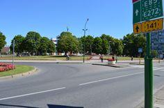Старая Клайпеда. Начало Проспекта Тайкос.