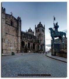Catedral (Sé) da cidade do Porto - PORTUGAL