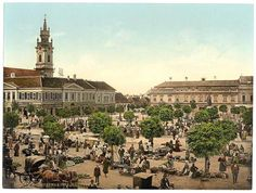 Oradea city « Romania pictures ~ a beautiful corner of Europe Heart Of Europe, Austro Hungarian, Morocco Travel, Places In Europe, Budapest Hungary, Old Postcards, Eastern Europe, Old Photos, Paris Skyline
