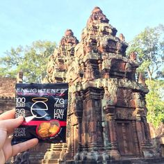 A traveler's worst nightmare, being Hangry while exploring the world. Have a bag of ENLIGHTENED Crisps on you at all times  @healthy_bodymindspirit knows what we're sayin!! Check out this amazing photo from Cambodia! #eatenlightened #hangry #crisps #healthysnacks #healthylifestyle #cheatclean #yummy #delicious #flexibledieting #eatcleantraindirty #protein #fiber #vegan #nongmo #Cambodia #travel #traveler  Check out her site: labrada.com/aff/healthybodymindspirit…