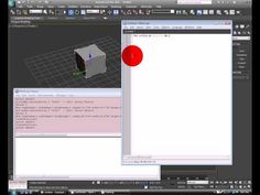 How to create a random position generator in max script using 3ds max - YouTube