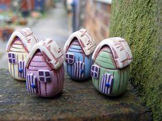 Tiny Beach Hut Beads   Flickr - Photo Sharing!
