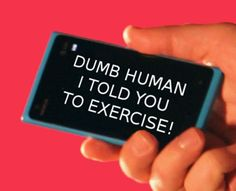 The end result of the quantified self movement mobile phones give up on us