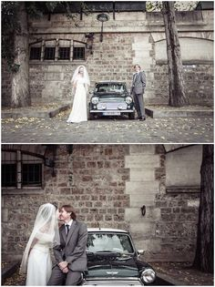vintage mini in Paris so cute for wedding photography via www.frenchweddingstyle.com #wedding #paris