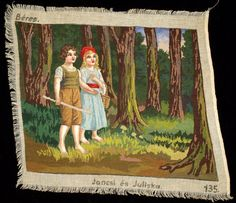 For multiple purchases, please ask for a quote on combined shipping cost! Vintage petit point Hansel and Gretel gobelin. Thread: cotton.In a perfect condition, no stains. Comes without frame. Size: 40x48cm (15.7x18.9) I ship worldwide.