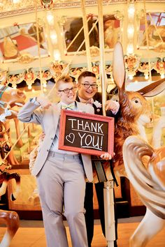 This gay wedding at a children's museum wins the internet today | Offbeat Bride
