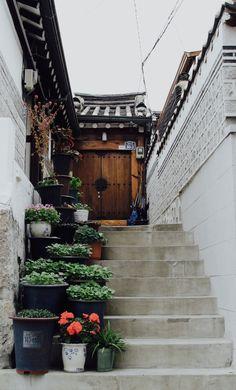 "korealookbook: "" Feels like home. Location: Bukcheon Villiage, Seoul """