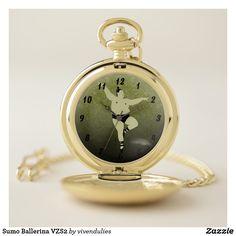 Sumo Ballerina VZS2 Pocket Watch