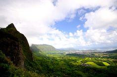 Nuuanu Pali Lookout - a Historic Landmark with beautiful views.