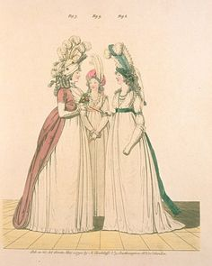Gallery of Fashion, Figures 7, 8 and 9.  May 1794