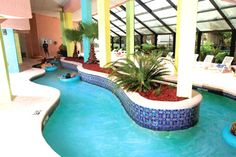 Lazy river for lazy days at hotel BLUE.