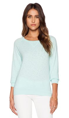 64665c624d95 Bobi Vintage Heavy Sweatshirt in Bubble Blue Sweater Design, Designing  Women, Revolve Clothing,