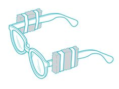 Our August 1965 issue recommended taping small blocks of Styrofoam to eyeglasses' bows, or legs, while fishing or boating. If the glasses go overboard, they'll float.   - PopularMechanics.com