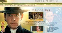 Mr. Collins' Description - Pride & Prejudice (2005) #janeausten #joewright #fanart