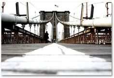 Trademark Fine Art 18'' x 24'' ''Brooklyn Bridge'' Canvas Wall Art by Yale Gurney