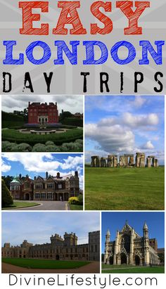 Heading to London? These Easy London Day Trips will give you fun, viable options just outside the city!
