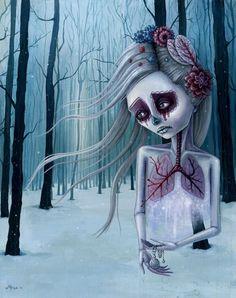 """beautiful decay oflife""  (megan wajewski)"