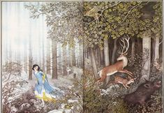 Snow White, illustrated by Nancy Burkert