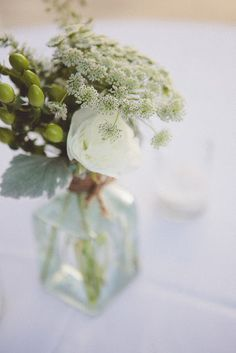 a little short, but simple for wedding tables
