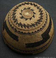 California Native American Indian Baskets - Hupa basket