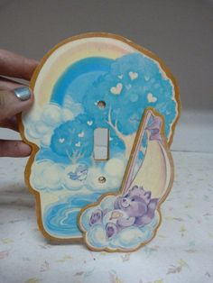 Vintage Care Bears Bright Heart Racoon Switch by RavishingRetro, $8.00