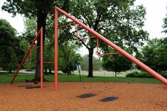 Piedmont Park, Atalanta Georgia, 1976. The only Noguchi-designed playground completed in his lifetime.