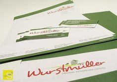Um die Corporate Identity komplett zu machen, darf das Briefpapier natürlich nicht fehlen!  #shoodesign #zitronengelb #werbeagentur #werbefirma #werbetechnik #designagentur #Design #Wurstmüller #Fleischer  #fleischerei #Wurst #Logo #Briefpapier #Briefbogen #corporateidentity