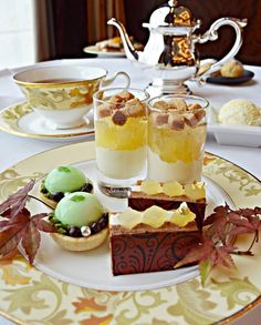 Indulge in autumn flavors and scrumptious sweets while you enjoy the changing of the seasons! - at Shangri-La Hotel, #Tokyo