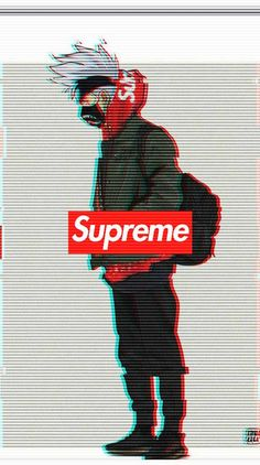 Supreme Wallpaper by EnXgMa - - Free on ZEDGE™ now. Browse millions of popular anime Wallpapers and Ringtones on Zedge and personalize your phone to suit you. Browse our content now and free your phone Supreme Iphone Wallpaper, Naruto Wallpaper Iphone, Wallpapers Naruto, Deadpool Wallpaper, Best Gaming Wallpapers, Glitch Wallpaper, Cool Anime Wallpapers, Marvel Wallpaper, Animes Wallpapers