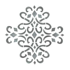 stencils  | medieval medallion accent home decor stencil pin it contains 1 5 x 7 ...