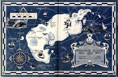 I Spy annual pirate treasure map.