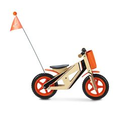 Say goodbye to training wheels! Balance bikes are a great way to teach children the fundamentals of riding a bicycle as they are intuitive with a child's own feet acting as training wheels. As they co